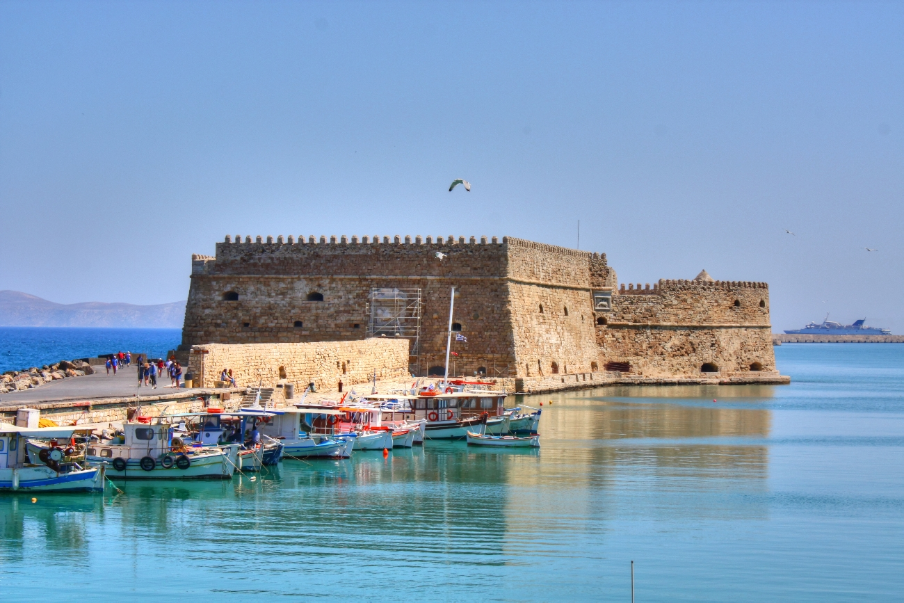 Heraklion City Sightseeing Tour, Creta Aquarium - Tourline