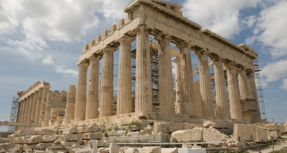 Parthenon Acropolis Athens Greece