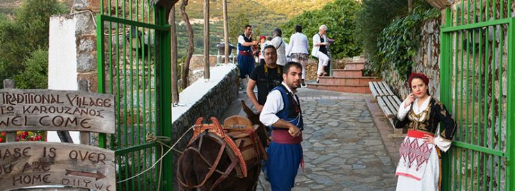 Karouzanos Village - Cretan Folklore Night
