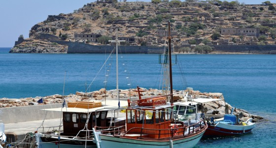Spinalonga from Plaka